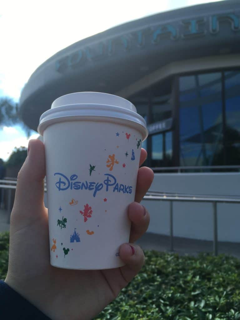 coffee at Disney World