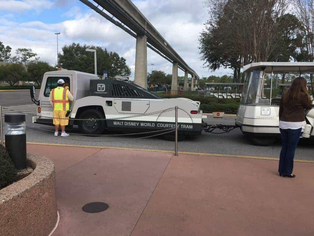 Get Free Transportation Cards at Disney World!