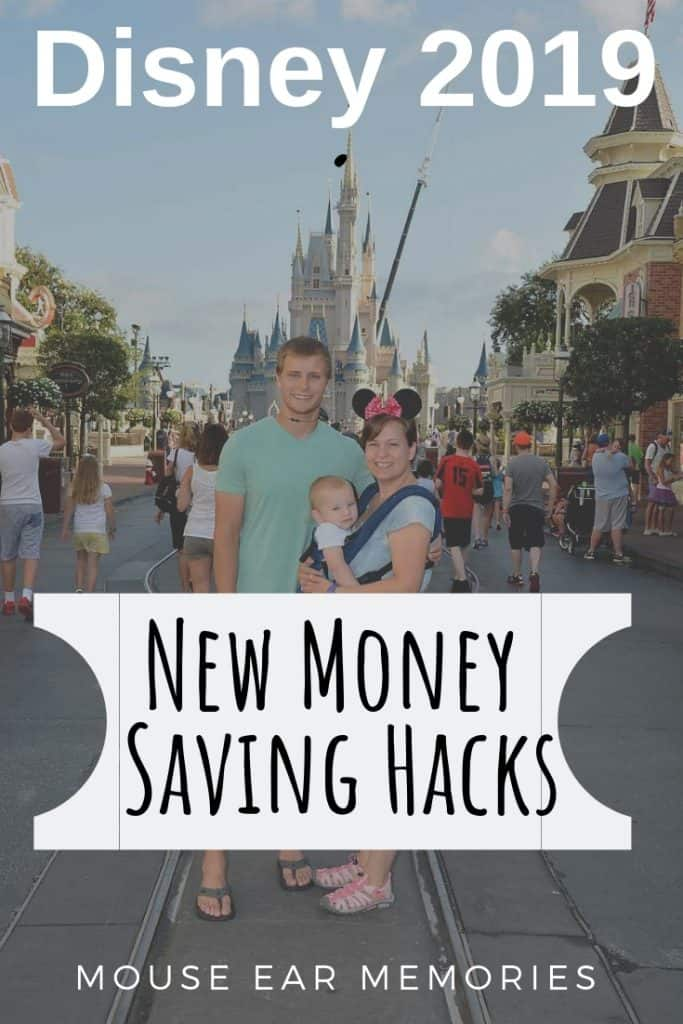 New money saving hacks for Disney World 2019. These are a must read for your next vacation! #disneyworld #disneyvacation