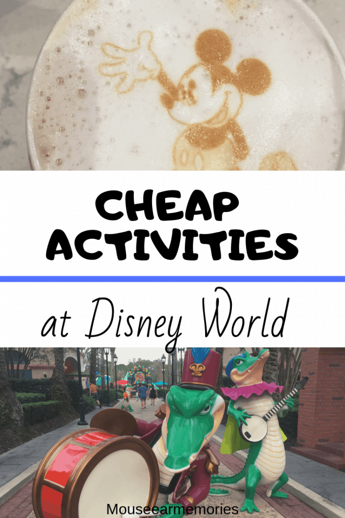 Not all of Disney World is super expensive! There are some budget friendly options for activities for your next Disney World Vacation.