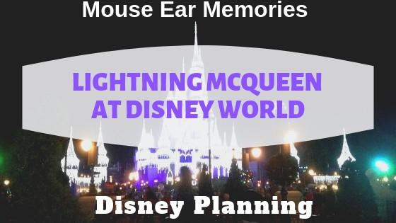 Lighting McQueen At Disney World!