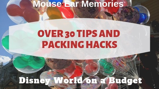 over 30 tips and packing hacks for disney world