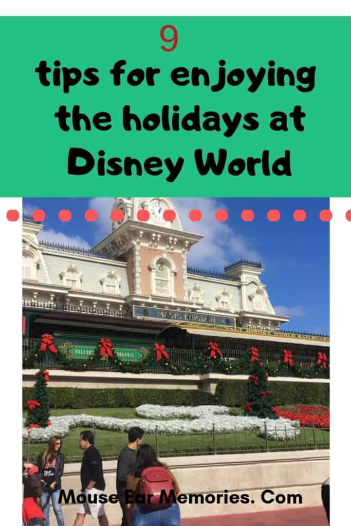 9 tips for disney world holidays