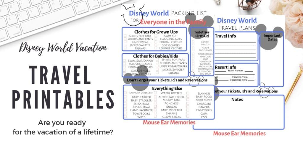 picture regarding Disney World Printable Tickets identify Cost-free Packing and Drive Lead Printables for Disney Globe