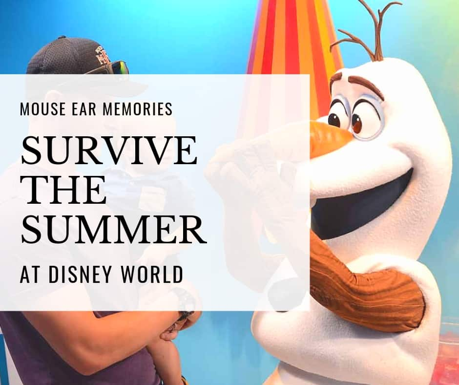 survive the summer at disney world